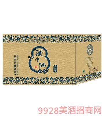 酒中仙青花瓷6盒外箱