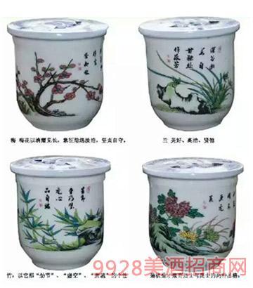梅兰竹菊酒