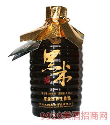 半干9度清爽黑米酒(武义)