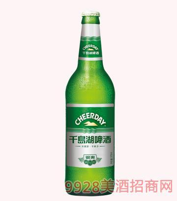 千岛湖啤酒-8度570银爽