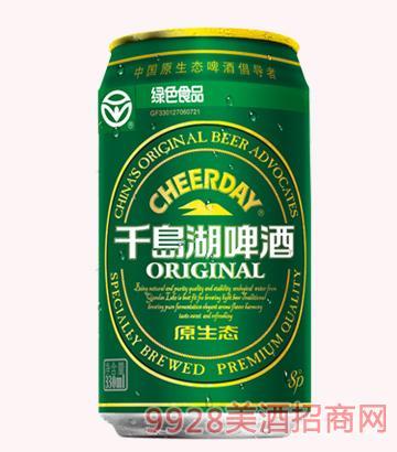 千岛湖啤酒-8度330ml原生态