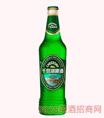 千岛湖啤酒-9度500ml(白瓶)原生态