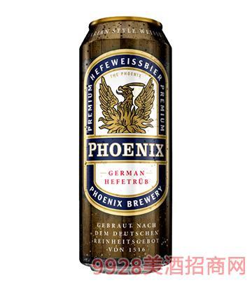 """欧洲进口啤酒""""PHOENIX"""" 金凤凰小麦啤酒"""