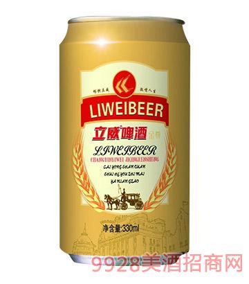 立威啤酒330毫升10度金尊