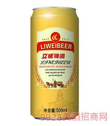 立威啤酒500毫升10度金尊