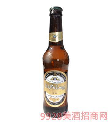 立威金孚龙黑啤啤酒330ml
