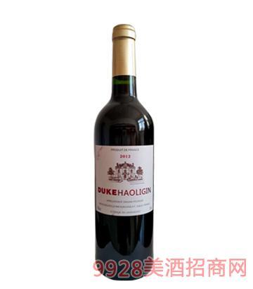 法国公爵奥利金干红葡萄酒