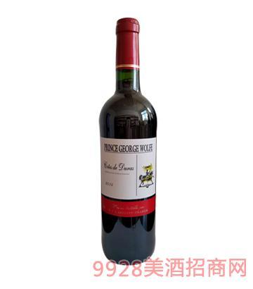 法国乔治王子干红葡萄酒