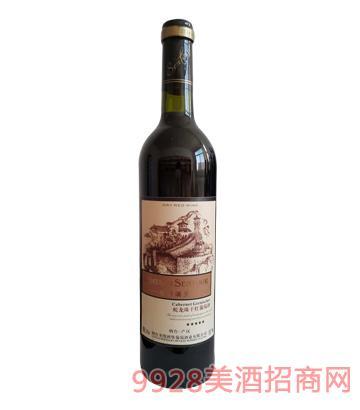 圣图酒堡蛇龙珠干红葡萄酒
