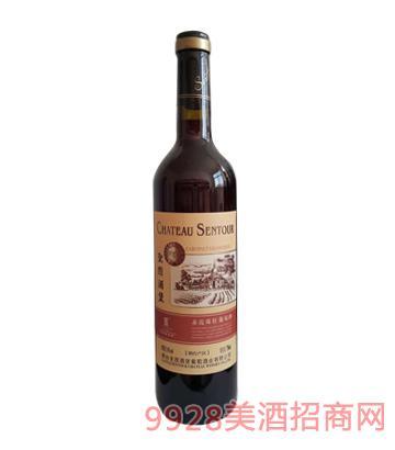圣图酒堡赤霞珠干红葡萄酒