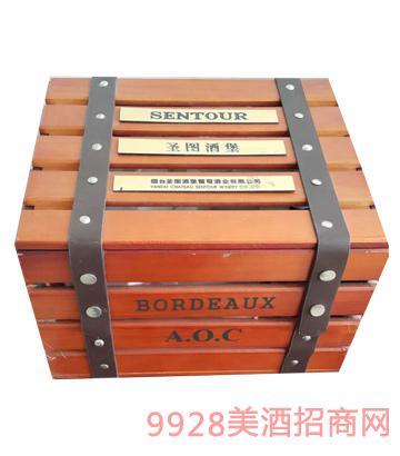 圣图酒堡双支礼盒