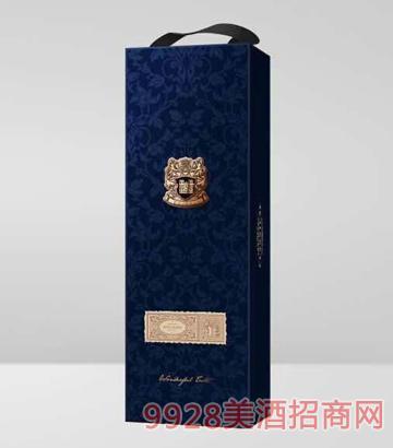 兰色单支盒葡萄酒