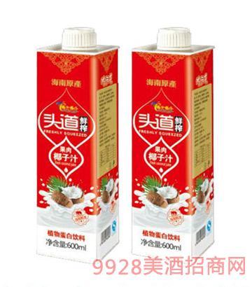椰大椰小生榨椰子汁600ml