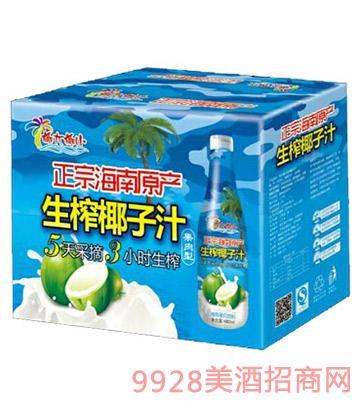 480ml椰大椰小生榨椰子汁1x15瓶