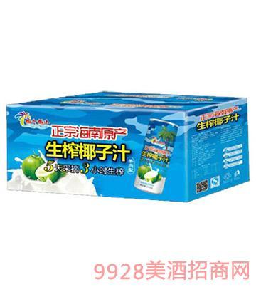 245ml椰大椰小生榨椰子汁1x15罐