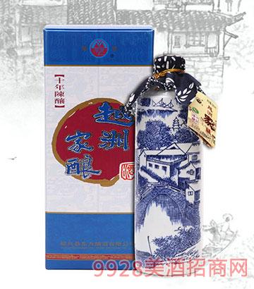 500ml梦里水乡黄酒十年陈越洲家酿