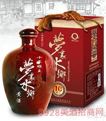 梦里水乡黄酒十年陈越洲雕王