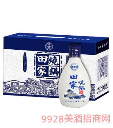 田家烧锅青花礼盒酒