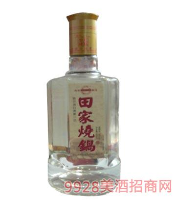 田家烧锅六棱瓶酒
