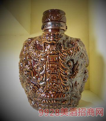 国鼎原浆30斤陶土坛酒