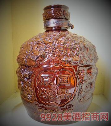 国鼎原浆50斤陶土坛酒