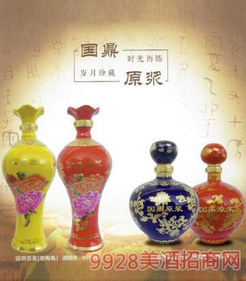 双梅瓶·花坛原浆酒