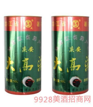 庆安大高粱酒10L