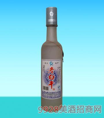 禹池老白干半斤圆磨砂酒