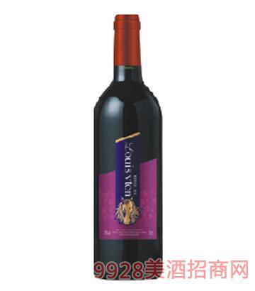 A17艾诺安城堡美乐干红葡萄酒