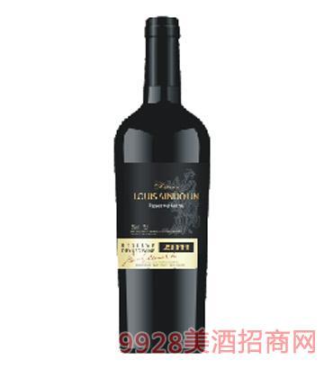M9陆易艾诺安城堡西拉干红葡萄酒