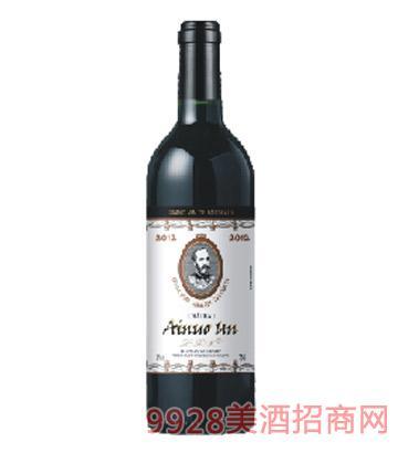 M4陆易艾诺安城堡梅洛干红葡萄酒
