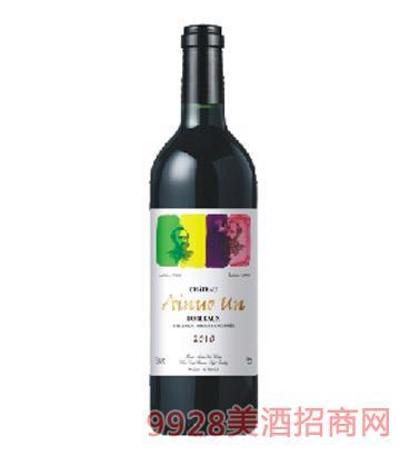 M2陆易艾诺安城堡西拉干红葡萄酒
