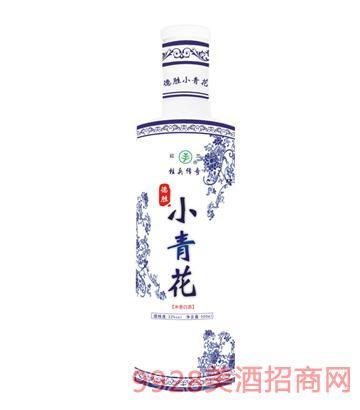 22度小青花德胜酒