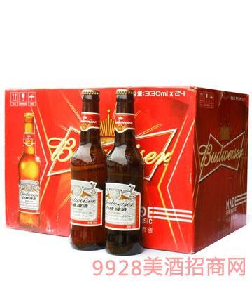 百威啤酒(24支x330ml)