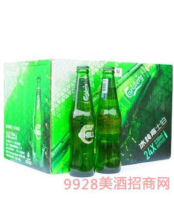 冰純嘉士伯(24支x330ml)啤酒