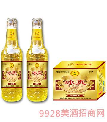 09牧咖啤酒冰爽330ml