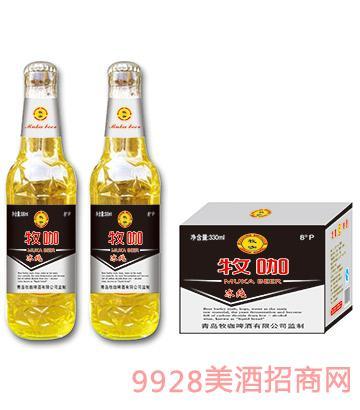 08牧咖啤酒冰�330ml