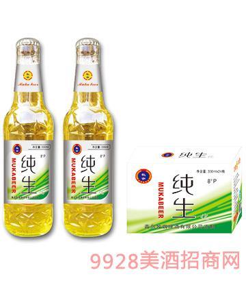 07牧咖啤酒�生330ml