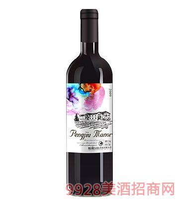鹏九庄园品丽珠干红葡萄酒