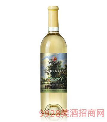 鹏九庄园莎当妮干白葡萄酒