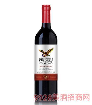 西拉橡木桶陈酿干红葡萄酒