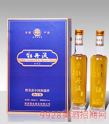 牡丹液尊贵套装(1)酒