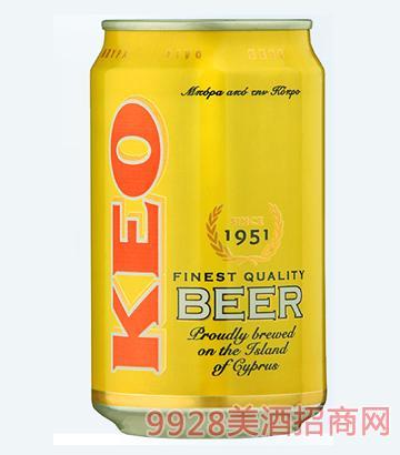 凯莉欧啤酒330ml