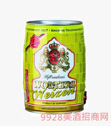 沃勒小麦啤酒5.3°