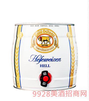 金牛3.1升桶装小麦啤酒