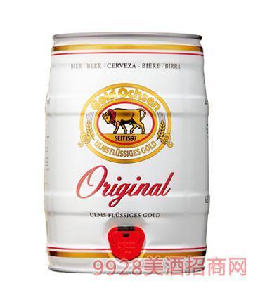 金牛5升桶装原浆啤酒