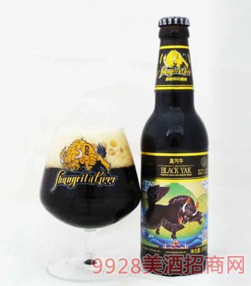 香格里拉啤酒黑耗牛