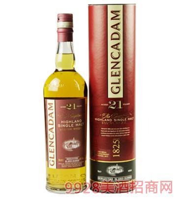格兰卡登21年单一麦芽威士忌葡萄酒