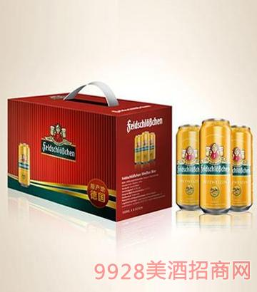费尔德城堡白啤啤酒