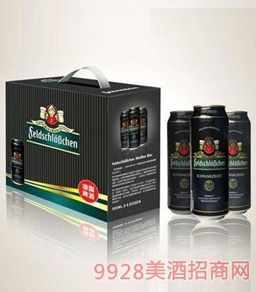 费尔德城堡黑啤啤酒